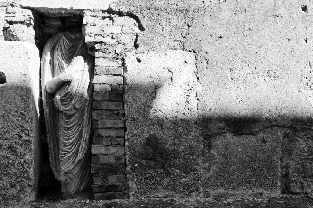 Expolia scultura  epoca romana