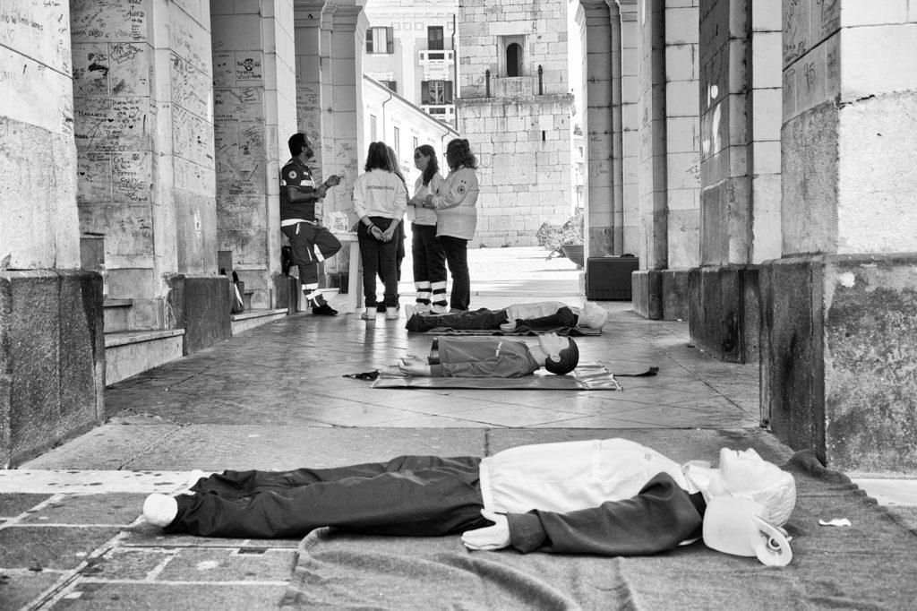 CRI Croce Rossa Italiana corso di addestramento per le emergenze