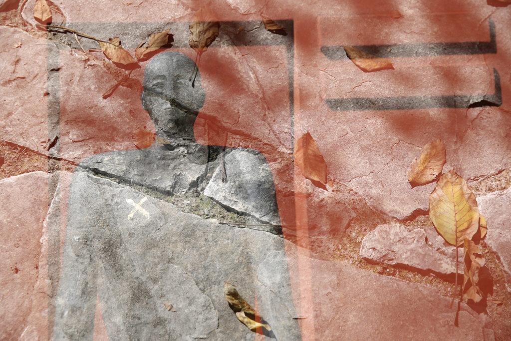 OMBRETTA FAVINO foto1 Benevento Sannio e i sanniti - Hortus Conclusus Mimmo Paladino transavanguardia