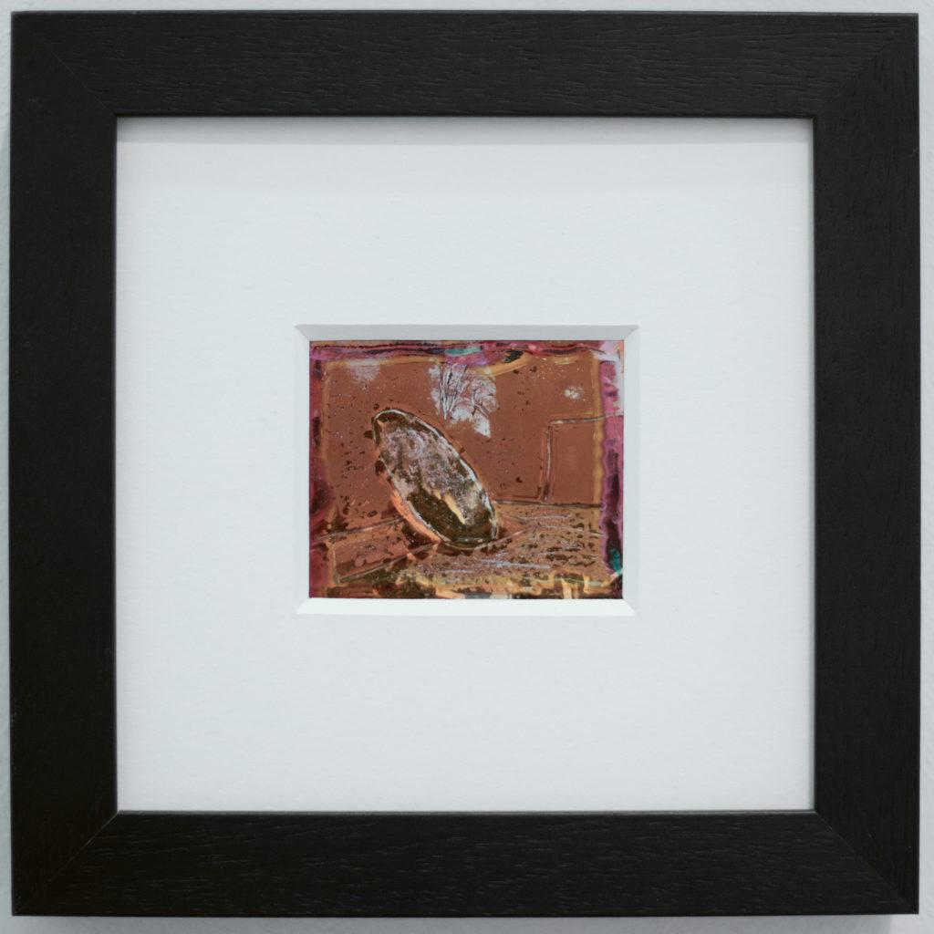 Polaroid  - opera Hortus Conclusus Mimmo Paladino